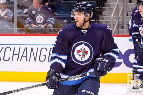 Viime kaudella Aaron Gagnonille kertyi 10 ottelua NHL:ssä.