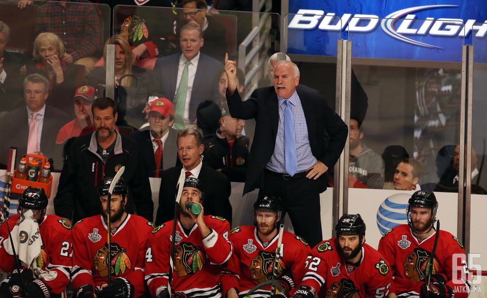 Joel Quenneville on NHL-historian toiseksi menestynein valmentaja.