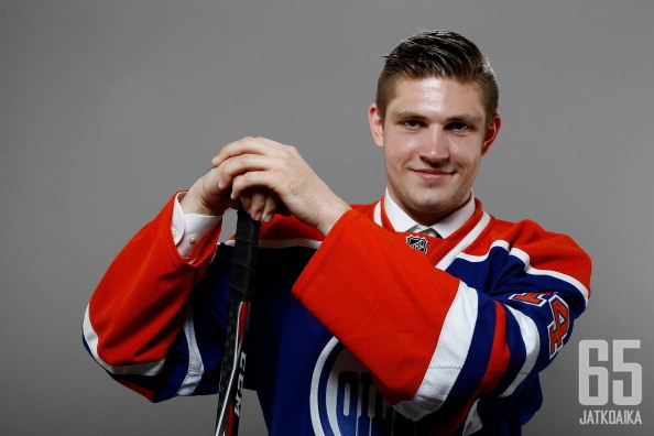 Leon Draisaitl sai sopimuksen Oilersiin.