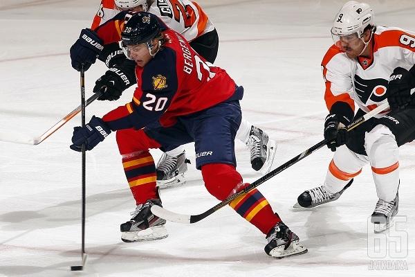 Panthers on yksi Bergenheimin uran neljästä NHL-seurasta.