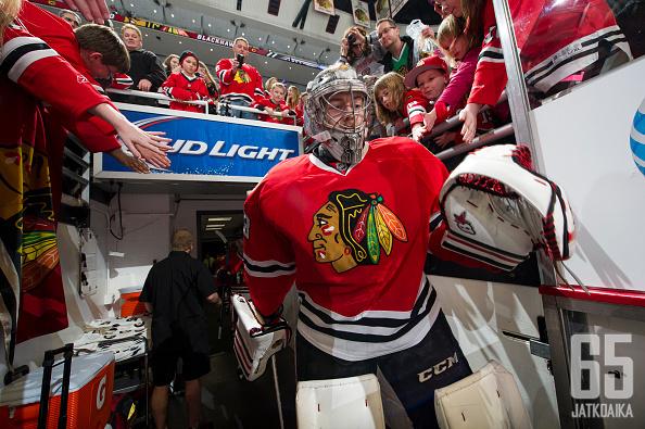 Darling teki NHL-debyyttinsä lokakuussa.