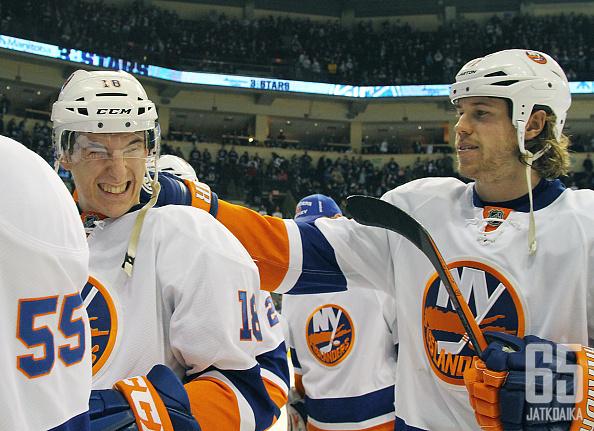 Ryan Strome oli Islandersin hahmo Jetsin kaadossa.