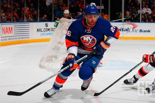 Vanek ei jatka Islandersissa.