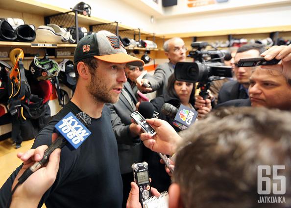 Philadelphia Flyersin organisaatio on ollut tyytyväinen Nick Schultzin otteisiin joukkueen takalinjoilla. Kokenut kanadalaispuolustaja palkittiin keskiviikkona jatkosopimuksella.