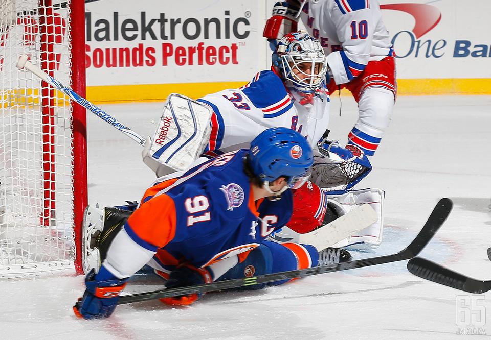 Rangers voitti ensi kertaa tällä kaudella Islandersin.