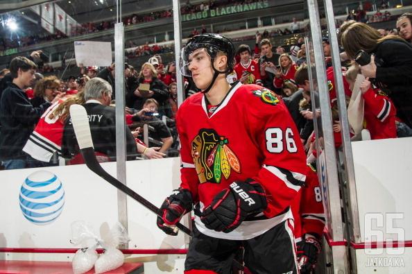 Teräväinen on lähellä kauden ensimmäistä NHL-otteluaan.