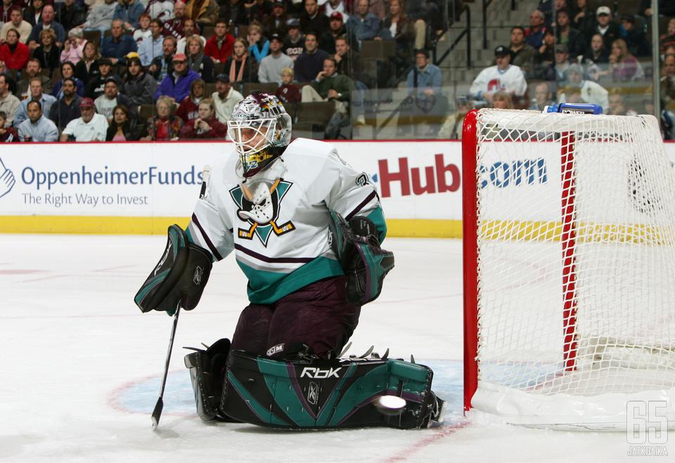 Ilya Bryzgalov palaa Ducksiin.