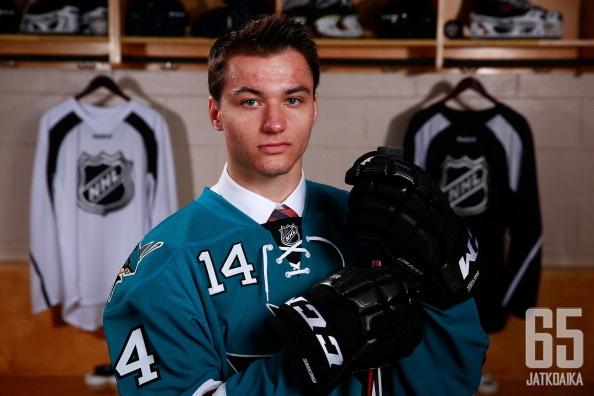 Kevin Labanc pelaa huippukautta OHL:ssä.