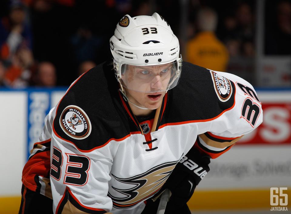 Jakob Silfverberg siirtyi Ducksiin aikoinaan kaupassa, jossa Senatorsiin matkasi Bobby Ryan.