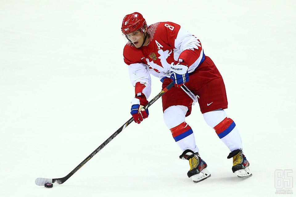 Ovetškin oli osa Venäjän joukkuetta kotikisoissa talvella 2014.