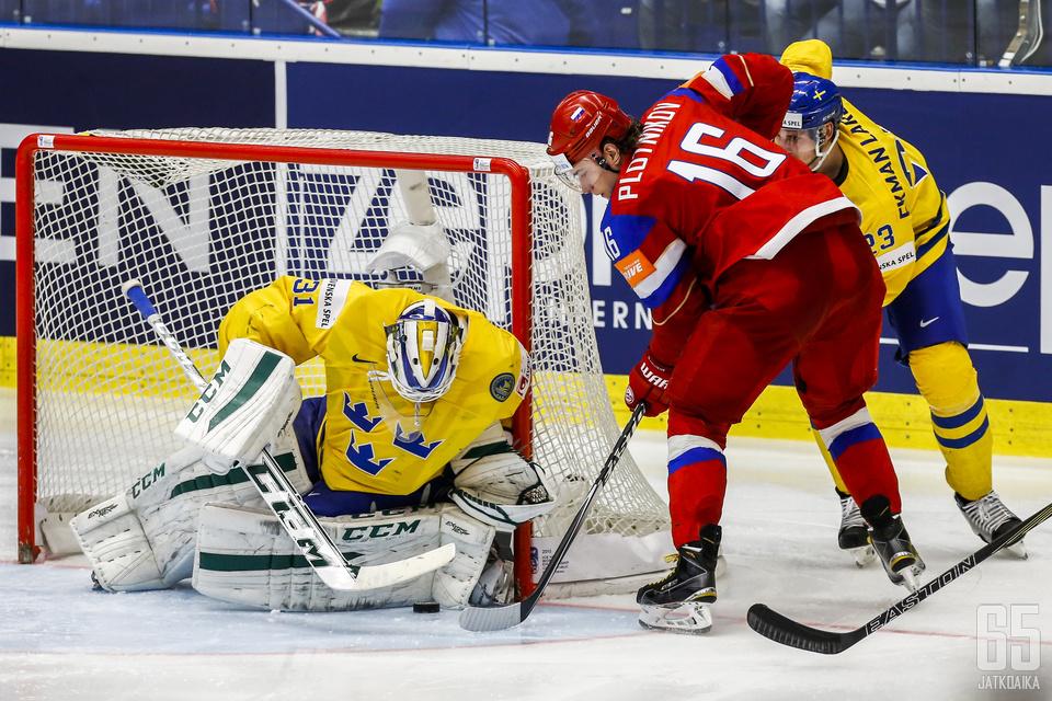 Anders Nilssonin uusi seura on Edmonton Oilers.