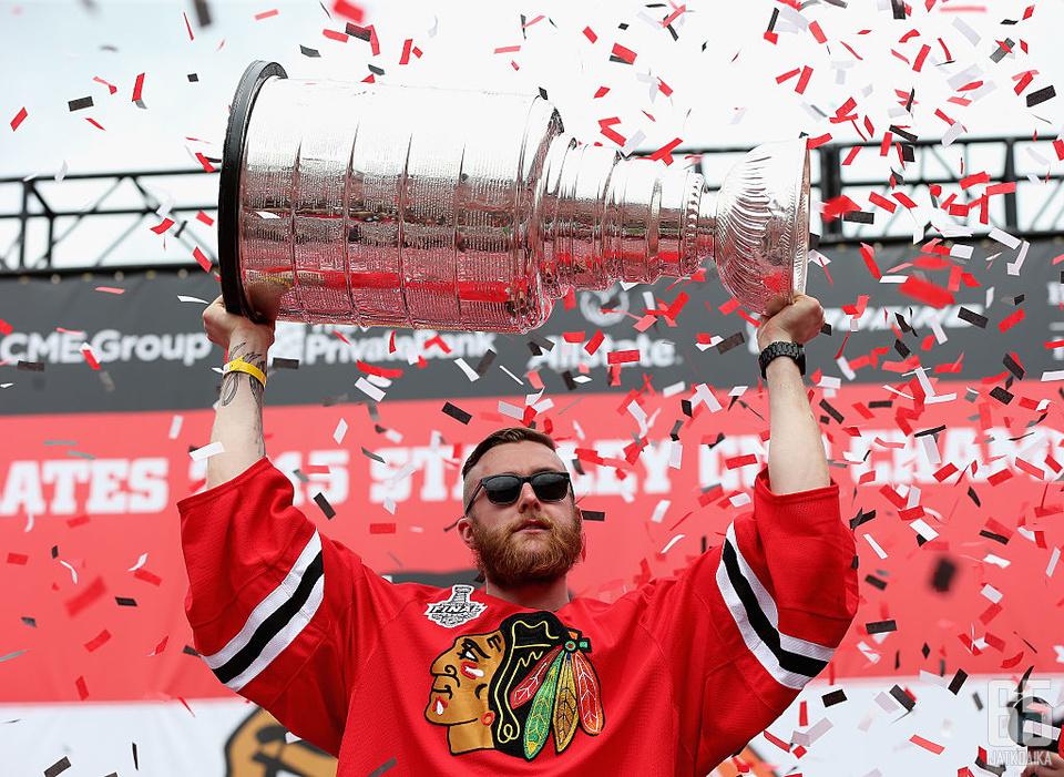 Darling voitti Stanley Cupin heti tulokaskaudellaan.