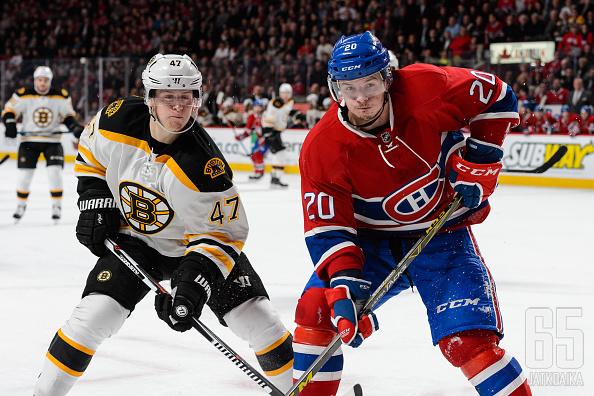 Canadiensin Christian Thomas siirtyy Arizonan lämpöön.