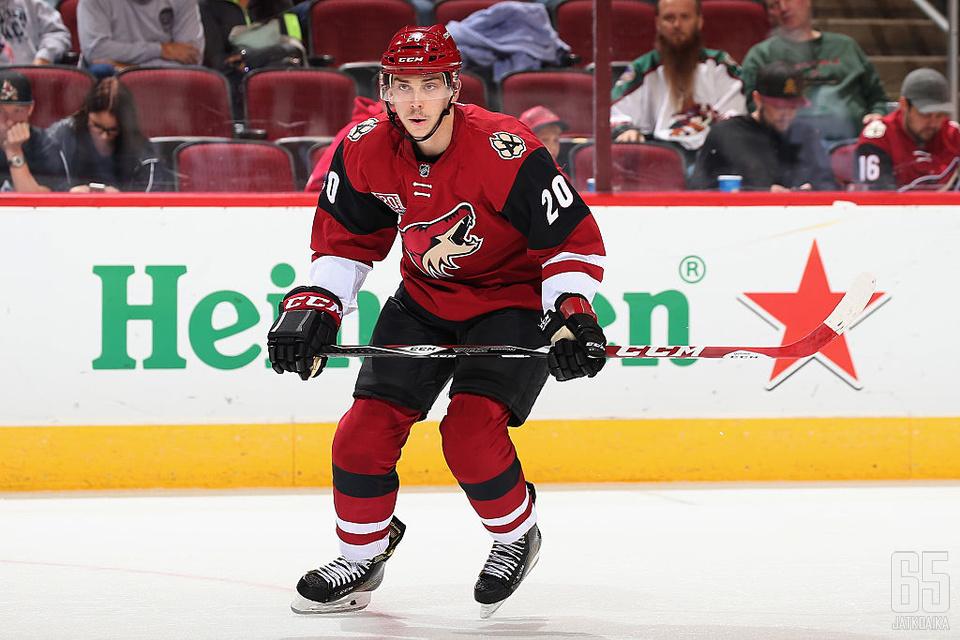 Strome pelasi aiemmin tällä kaudella 11 NHL-ottelua.
