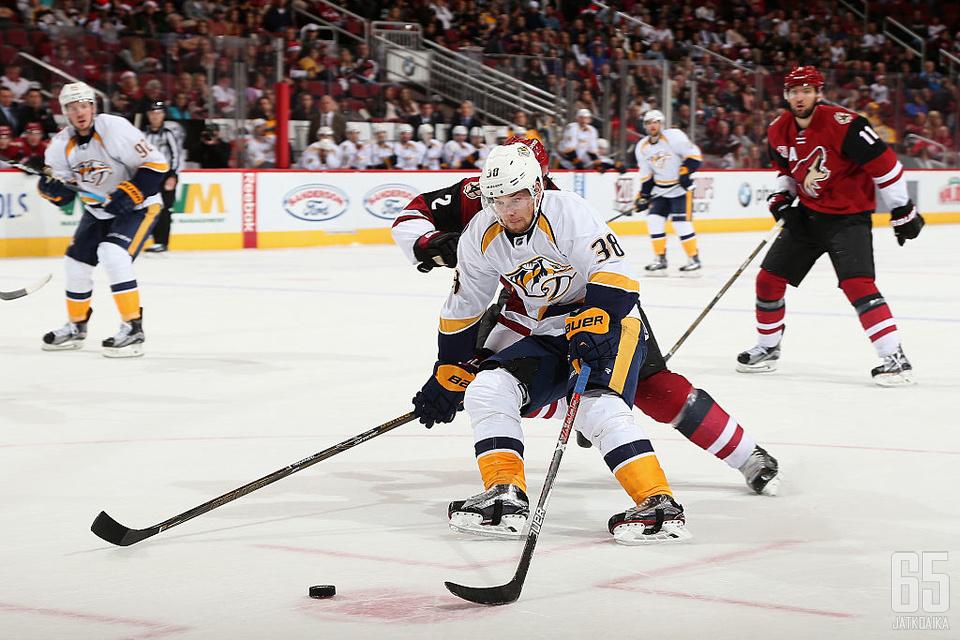 Arvidssonin unelma Stanley Cupista mureni pudotuspelien toisella kierroksella.