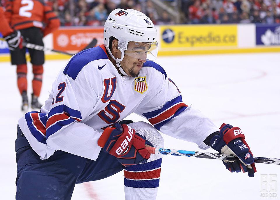 Jordan Greenway on jo ehtinyt edustaa Yhdysvaltoja niin olympialaisissa kuin maailmanmestaruuskilpailuissakin.