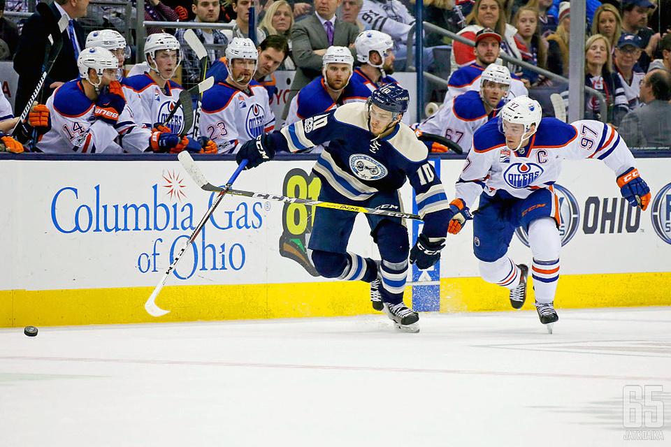 Wennberg on punnertanut itsensä NHL:n kärkisenttereiden joukkoon.