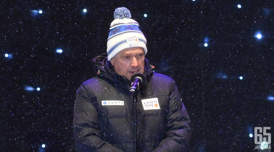 Sauli Niinistö nähdään suomijuhlissa Minnesotassa.