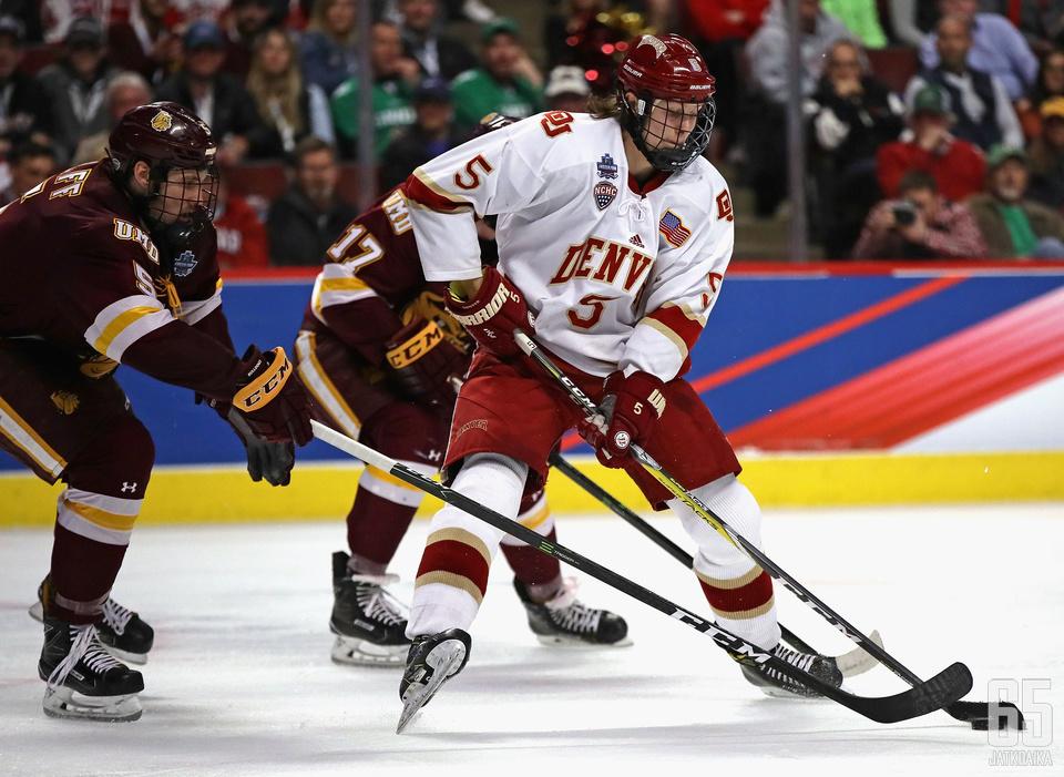 Yliopistokiekon taakseen jättänyt Borgström hakee vakipaikkaa NHL:n puolelta.