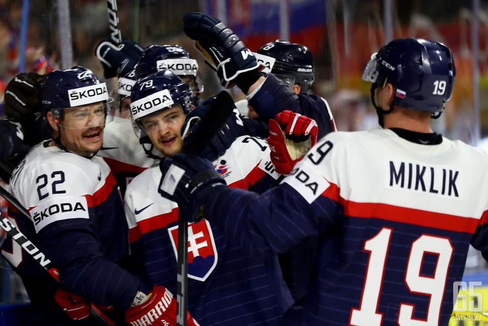 Slovakia otti voiton jatkoajalla.
