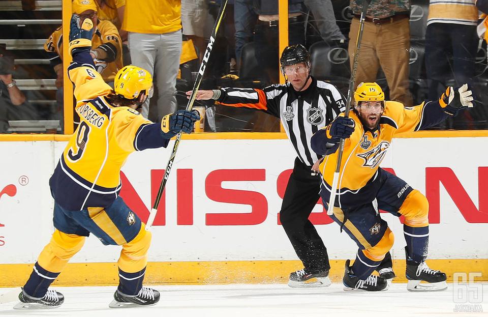 Nashville Predators lähtee suosikkina NHL:n Läntisen konferenssin pudotuspeleihin.