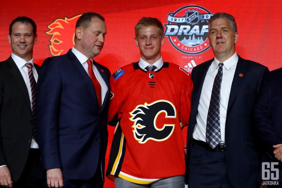 Juuso Välimäki varattiin NHL:n kesän 2017 varaustilaisuuden ensimmäisellä kierroksella.