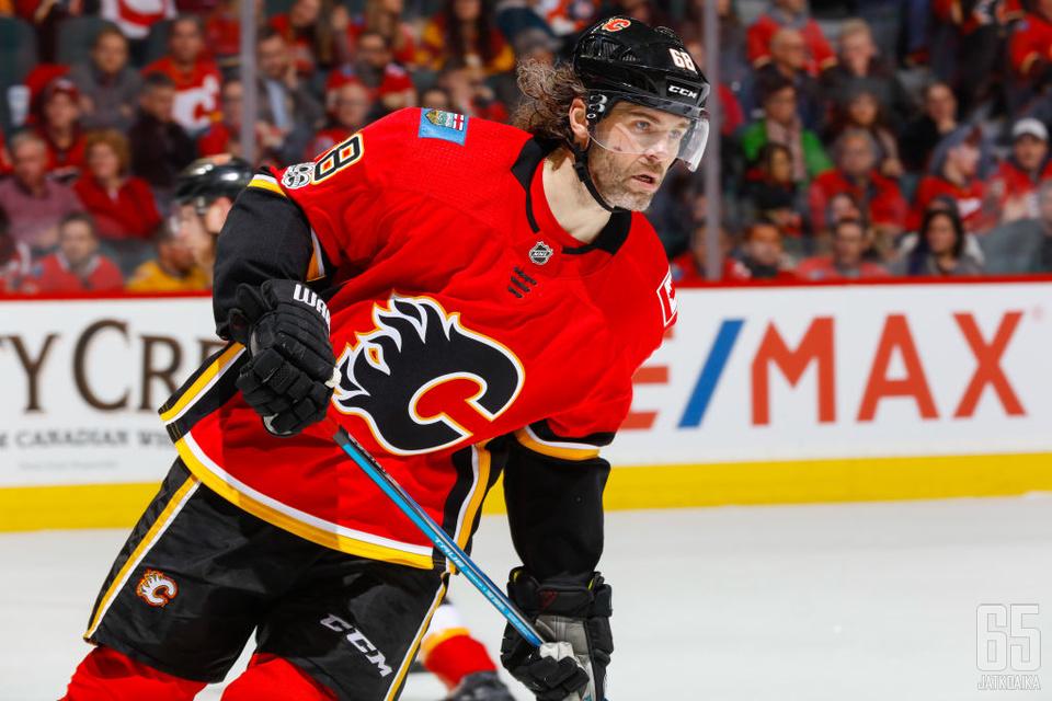 Jagrin NHL-ura vetelee viimeisiään.