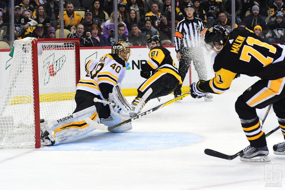 Malkin laukoi Penguinsin voittomaalin jatkoajalla.