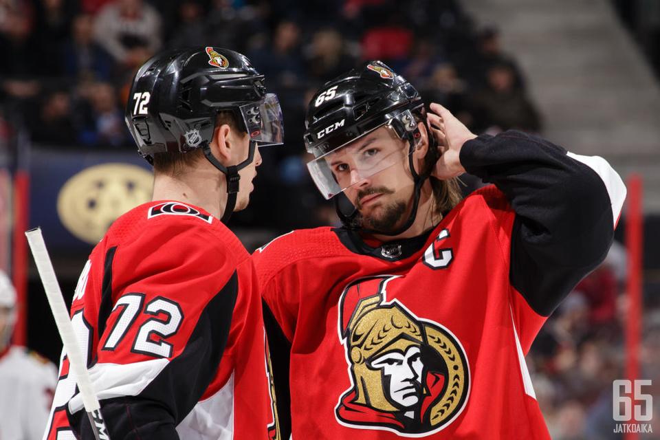 Senators-kapteeni Karlsson on NHL:n yksi kirkkaimmista tähdistä.