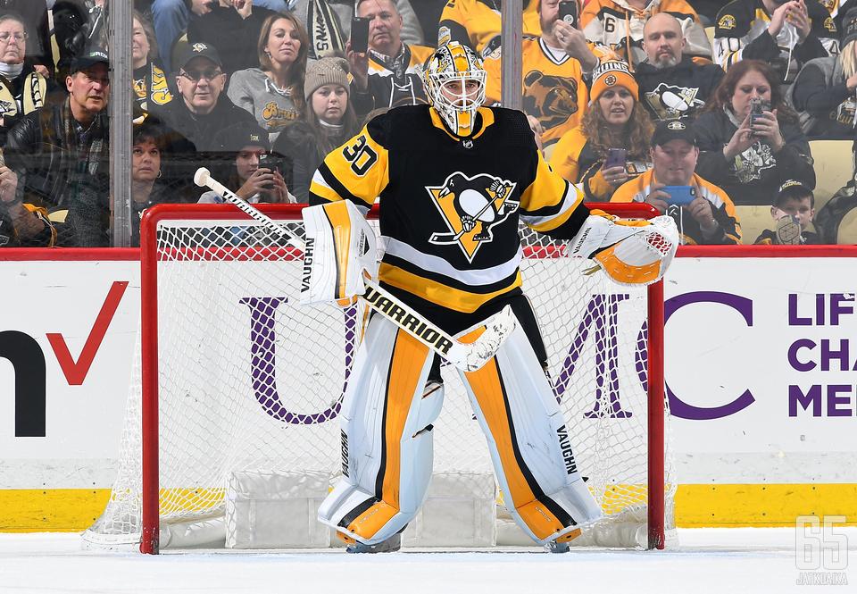 Murrayta ei toistaiseksi nähdä Penguins-maalilla.