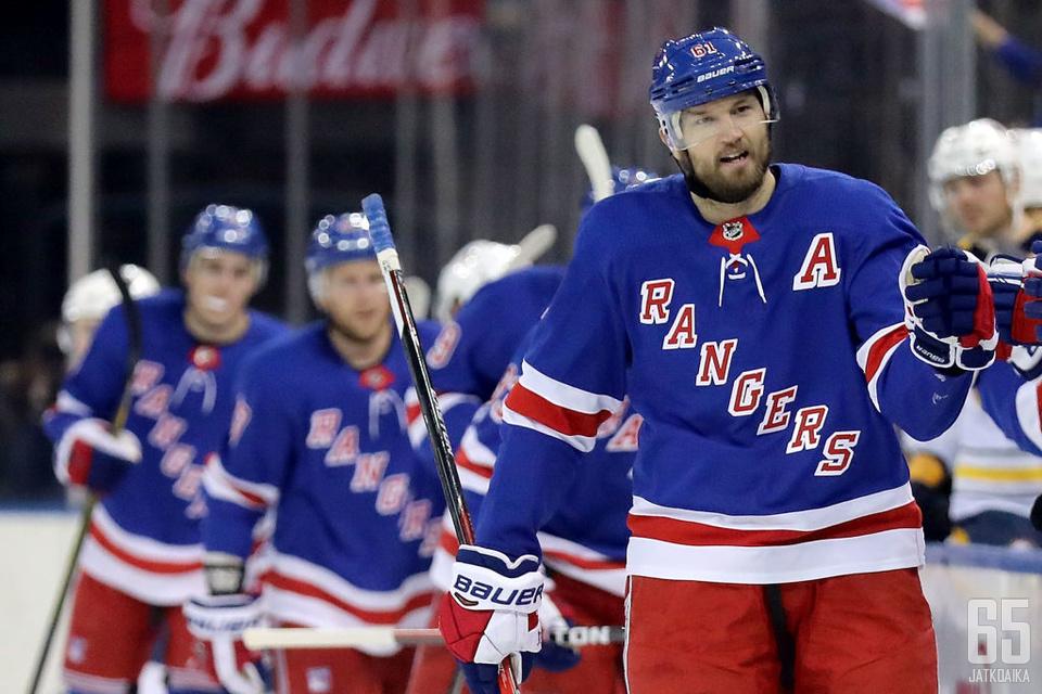 New York Rangersin Rick Nashille riittäisi ottajia.