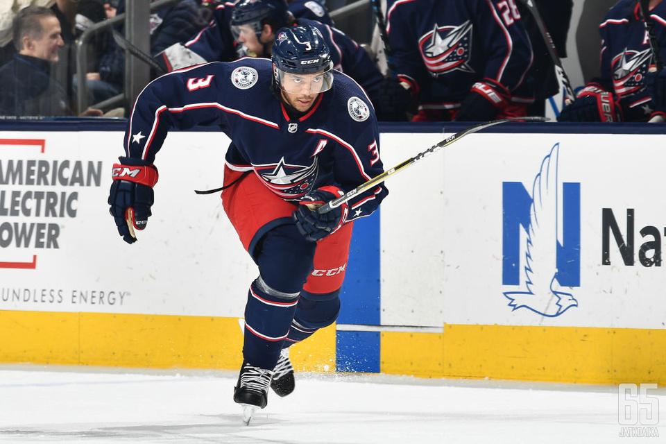 Seth Jones on noussut lyhyessä ajassa NHL:n kärkipuolustajien kaartiin.