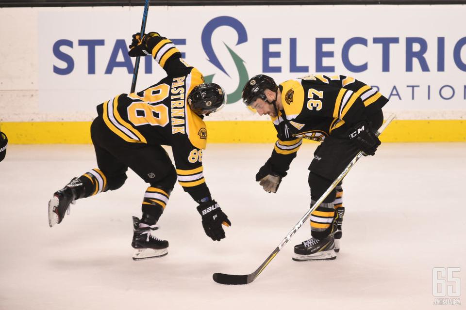 Bruinsin ykkösketju nousi ratkaisevaan rooliin.