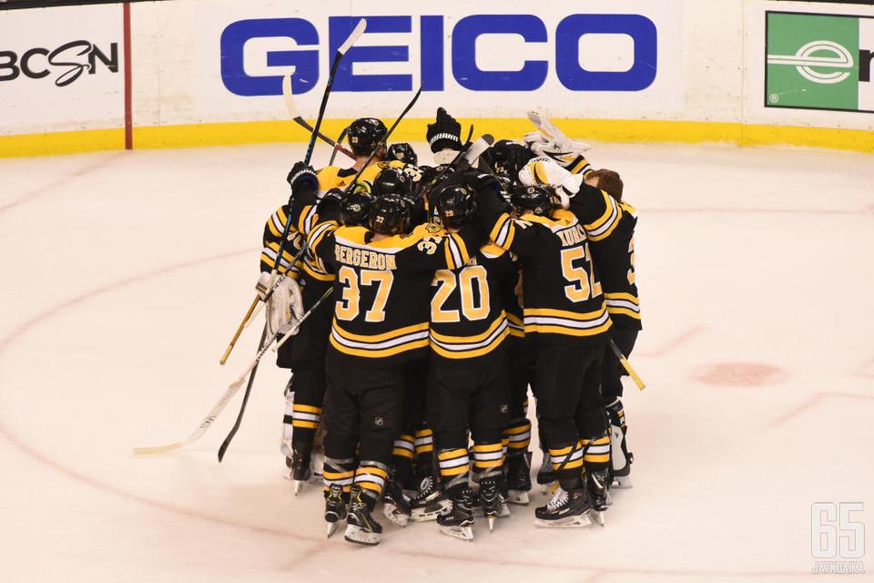 Bruinsin pudotuspelikevät jatkuu vähintään neljä peliä.