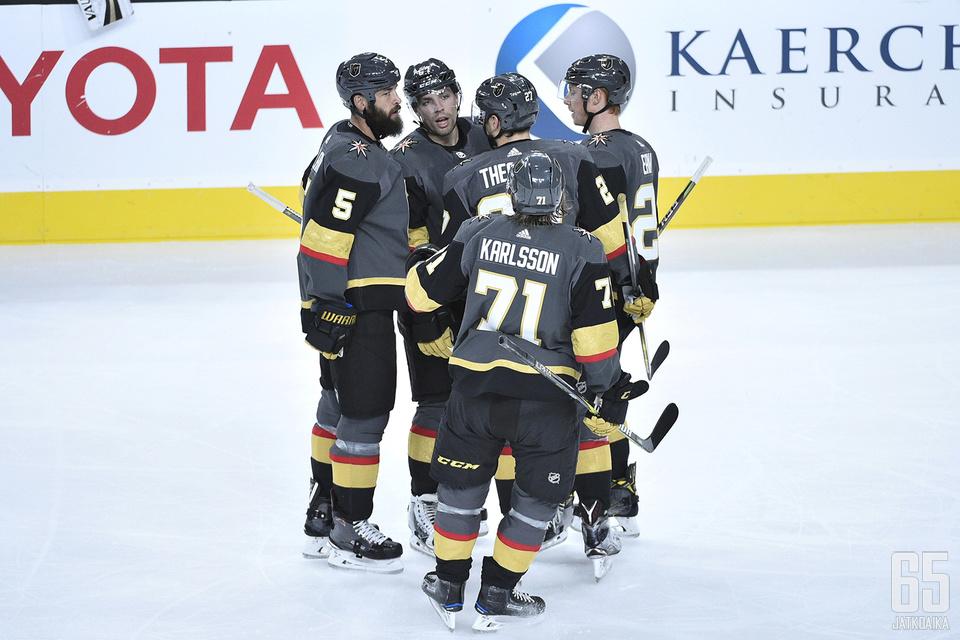 Vegas Golden Knights kohtaa Dallas Starsin lauantaiyönä Suomen aikaa.