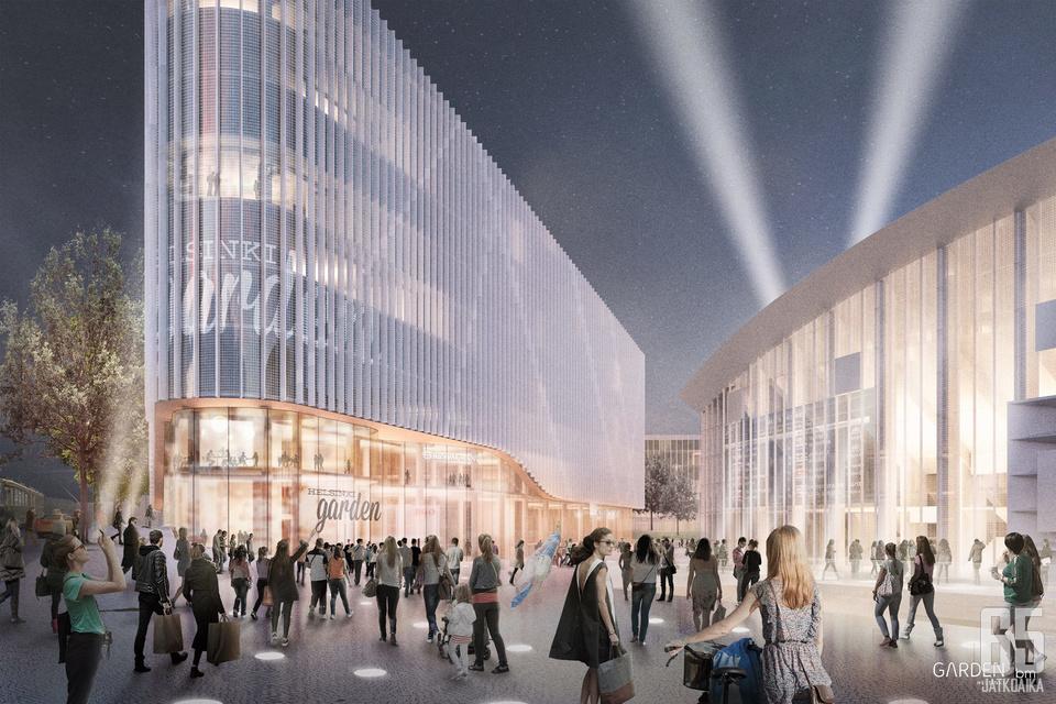 Garden-hanke hyväksyttiin Helsingin kaupunginvaltuustossa.
