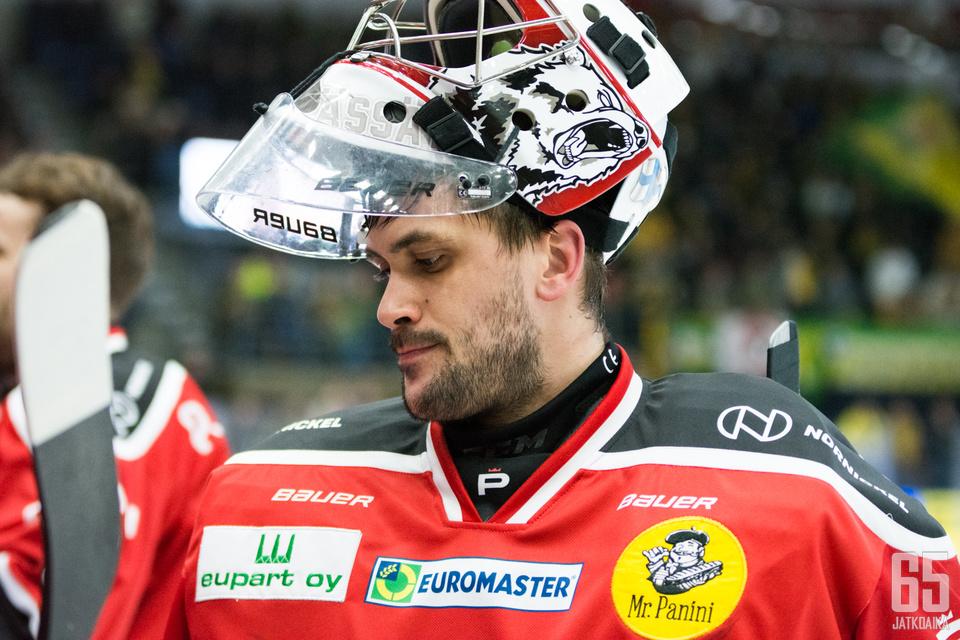 Andreas Bernard oli mies paikallaan tiistain huipputärkeässä ottelussa.