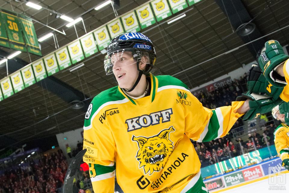 Ville Meskanen sijouttui Liigan maalipörssissä kolmannelle sijalle paukuttaen peräti 24 maalia.