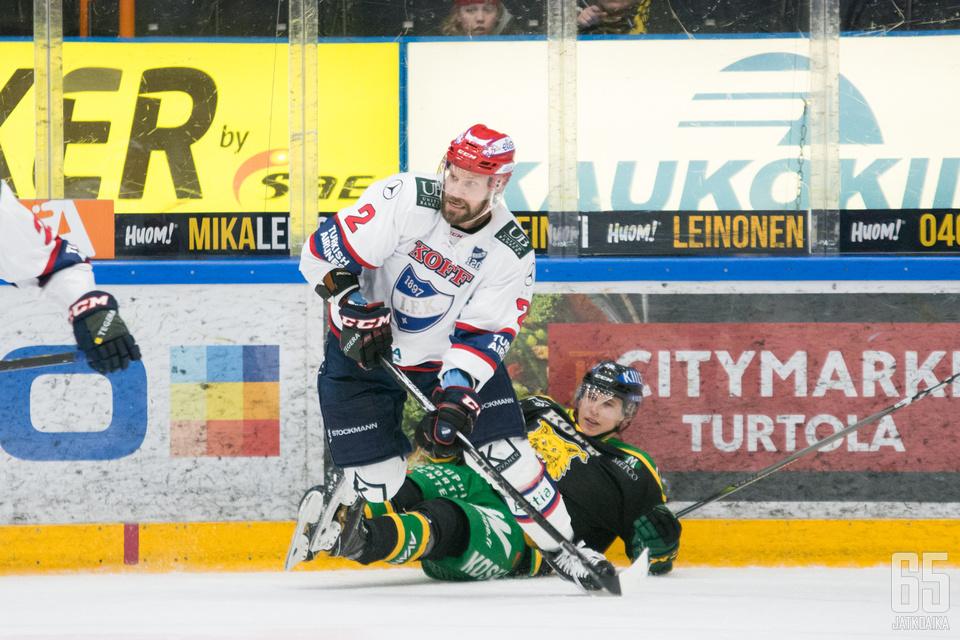 Kankaanperä tuo fyysisyyttä HIFK:n puolustukseen.