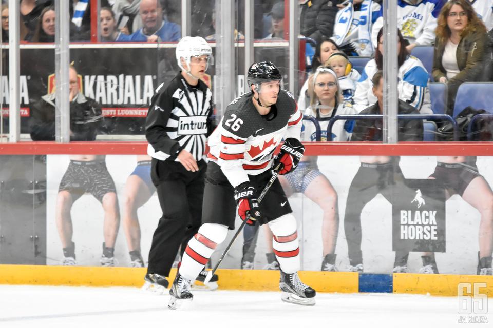 25-vuotias Christian Thomas on Kanadan olympiaryhmän nuorin pelaaja.