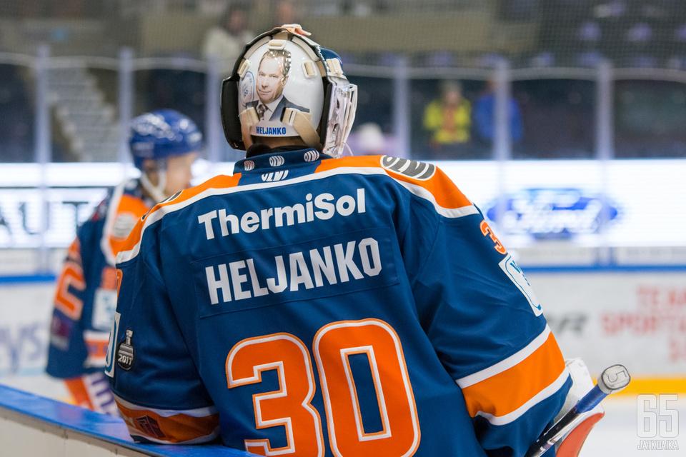 Heljanko on pitänyt Liiga-uransa alussa maalin puhtaana pitempään kuin kukaan muu.