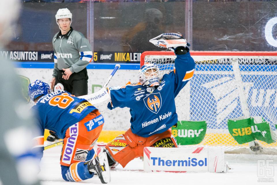 Christian Heljanko on nauttinut ennen liigauraansa Mestiksessä isoa vastuuta. (Arkistokuva)