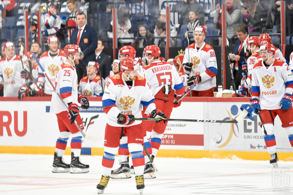Venäjän kelpasi tuulettaa.