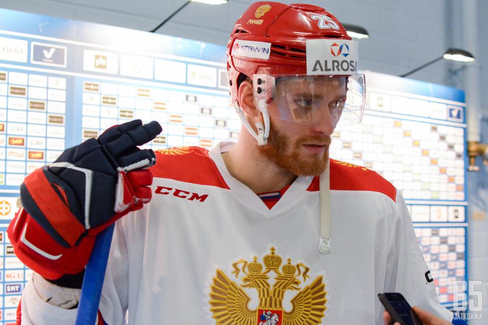 Mihail Grigorenko oli toinen kaksi tehopistettä keränneistä venäläispelaajista.