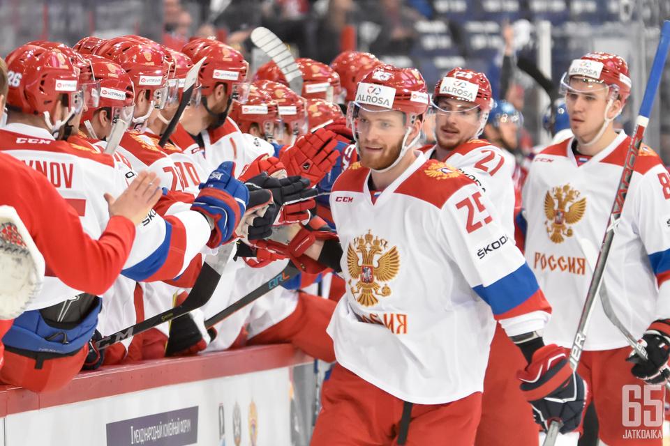 Venäjän joukkue lähtee Karjala-turnaukseen uusitulla kokoonpanolla.