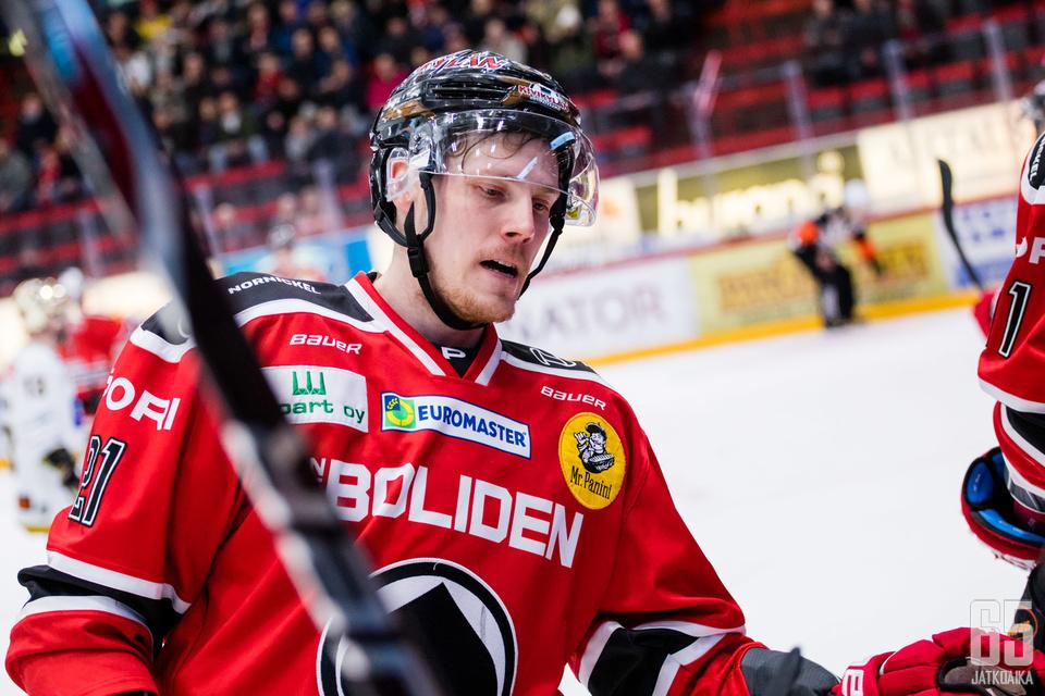 Niklas Appelgren tuikkasi kaksi maalia.