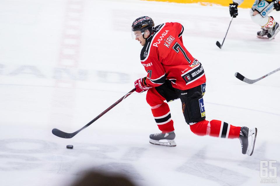 Jarno Kärki nousi Ässien sankariksi päätöserässä.