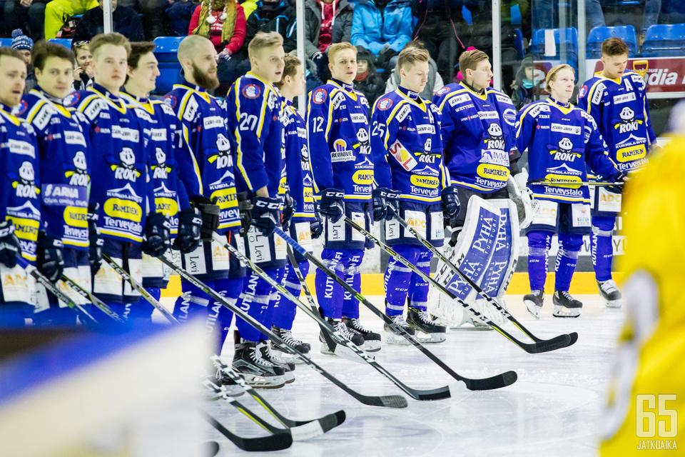 RoKin valmennus on vielä rakenteilla kaudeksi 2018-2019.