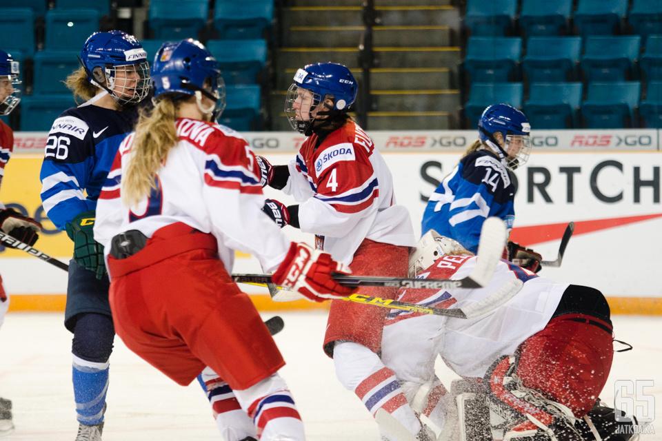 Vuosi sitten MM-kisoissa Tšekki väänsi myös Suomea vastaan.
