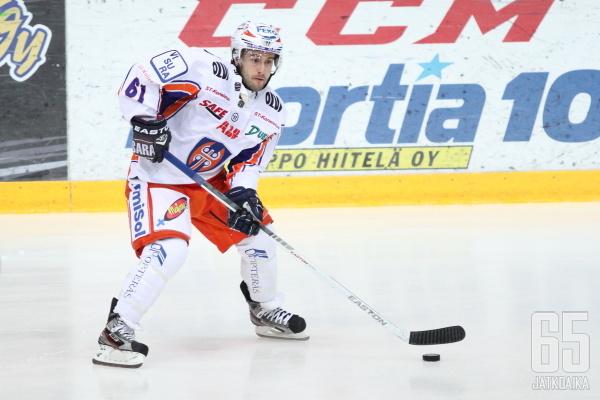 Connolly ei mahtunut Jukka Rautakorven kuvioihin enää tällä kaudella.